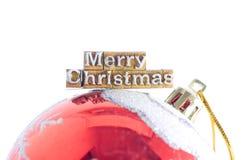 圣诞节结婚 免版税图库摄影
