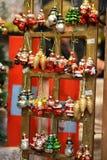 圣诞节结构树装饰 免版税库存图片