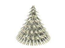 圣诞节美元 库存照片