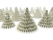 圣诞节美元 库存图片