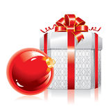 圣诞节美妙例证的向量 免版税库存图片