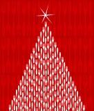 圣诞节美食结构树 库存例证