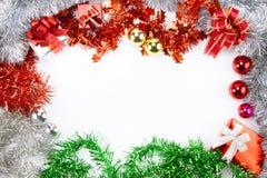 圣诞节背景和框架概念 库存照片