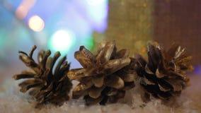 圣诞节背景和爆沸 影视素材