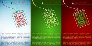 圣诞节背景摘要  免版税库存图片