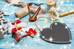 圣诞节背景空白 免版税库存照片
