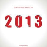 圣诞节背景2013年 免版税图库摄影