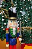 圣诞节胡桃钳战士 库存图片