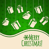 圣诞节节假日背景 图库摄影