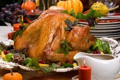 圣诞节节假日表火鸡 库存图片