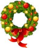 圣诞节花圈 库存照片