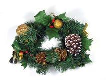 圣诞节花圈 免版税图库摄影