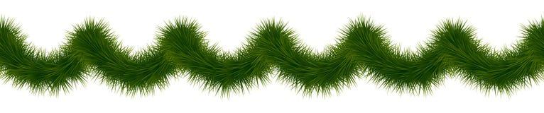 圣诞节花彩 新年度诗歌选 冷杉装饰torse 皇族释放例证