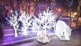 圣诞节莫斯科 图库摄影