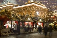 圣诞节莫斯科 免版税图库摄影