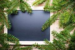 圣诞节菜单。 免版税图库摄影