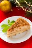 圣诞节蛋糕 免版税图库摄影
