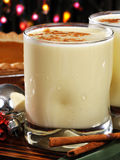 圣诞节蛋黄乳 免版税库存图片