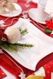 圣诞节表 库存图片