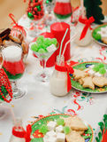 圣诞节表 免版税图库摄影