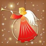 圣诞节装饰。 天使。 免版税库存图片