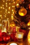圣诞节装饰。 图库摄影