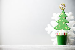 圣诞节装饰。 免版税库存图片