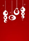 圣诞节装饰减速火箭 库存照片
