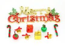 圣诞节装饰品和装饰 库存照片