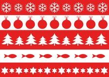 圣诞节装饰品样式 皇族释放例证
