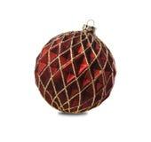 圣诞节装饰品红色 图库摄影