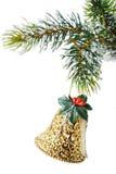 圣诞节装饰品结构树 免版税图库摄影