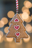 圣诞节装饰品结构树 库存照片
