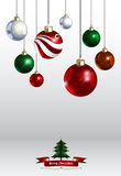 圣诞节装饰品背景五颜六色的另外样式颜色 Ve 库存照片
