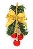圣诞节装饰品范围 库存图片