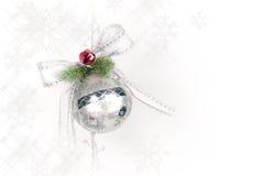圣诞节装饰品雪花 免版税库存图片