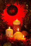 圣诞节装饰品 图库摄影