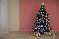 圣诞节装饰圣诞树礼物圣诞节 免版税图库摄影