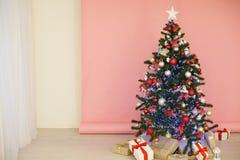 圣诞节装饰圣诞树礼物圣诞节 库存图片