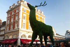 圣诞节装饰在伦敦 库存照片
