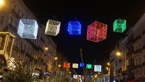圣诞节装饰在布鲁塞尔 免版税图库摄影