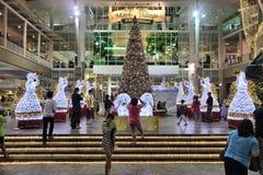 圣诞节装饰在泰国 库存照片