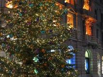 圣诞节装饰在苏黎世 库存照片