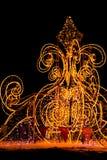 圣诞节装饰在莫斯科 免版税图库摄影