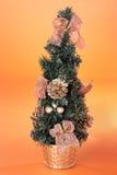 圣诞节装饰小的结构树 免版税图库摄影