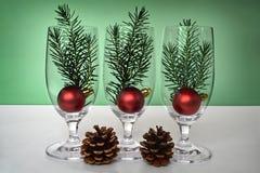 圣诞节装饰想法 库存图片