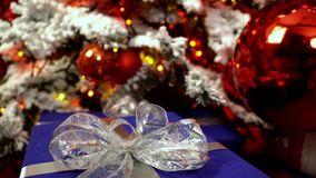 圣诞节装饰新年度 股票录像