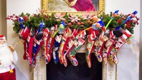圣诞节装饰新的储存岁月 免版税库存图片