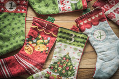 圣诞节装饰新的储存岁月 免版税库存照片