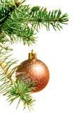 圣诞节装饰新的结构树年 免版税库存照片